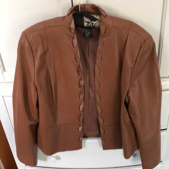 doncaster collection Jackets & Blazers - Brown leather jacket
